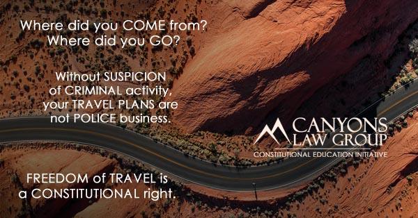 Freedom of Travel - Fourth Amendment Seizure